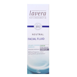 lavera Organic Neutral Facial Fluid for Adults - 50ml