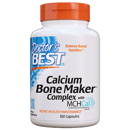 Doctors Best Calcium Bone Maker Complex - 180 Capsules