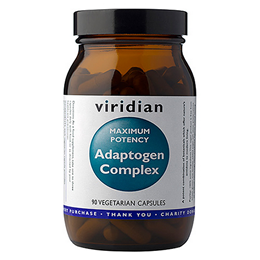 Viridian MAXIMUM POTENCY Adaptogen Complex - 90 Vegicaps