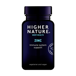 Higher Nature Zinc - with Copper - 90 Tablets