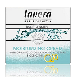 lavera Organic Basis Q10 Anti-Ageing Moisturising Cream - 50ml