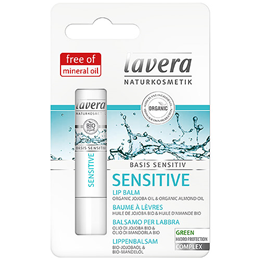 lavera Basis Sensitiv Lip Balm - 4.5g