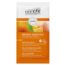 lavera Organic Body Spa Orange Feeling Bath Sea Salts - 80g