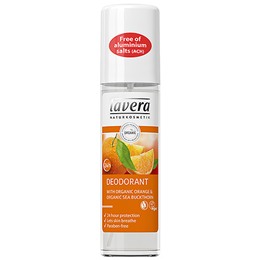 lavera Organic Orange and Organic Sea Buckthorn Deodorant - 75ml