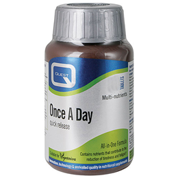 Quest Once A Day - Quick Release Multivitamin & Mineral - 150 Tablets