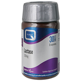 Quest Lactase - Lactose Digesting Enzyme - 30 x 200mg Tablets