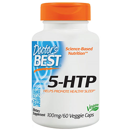 Doctors Best 5-HTP - 60 x 100mg Capsules