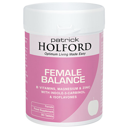 Patrick Holford Female Balance - Hormone Support - 90 Tablets