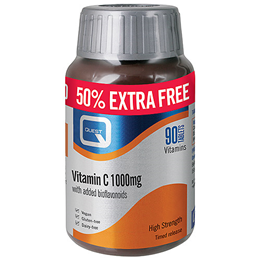 Quest Vitamin C - 50% Extra FREE - 60+30 x 1000mg Tablets