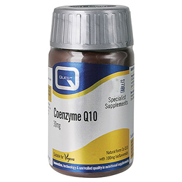 Quest Coenzyme Q10 - Cardiovascular Health - 30 x 30mg Tablets