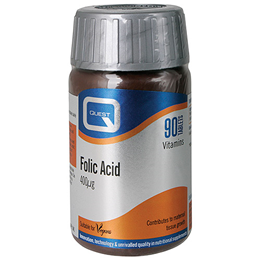 Quest Folic Acid - 90 x 400mcg Tablets
