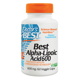 Doctors Best Alpha Lipoic Acid - 60 x 600mg Vegicaps