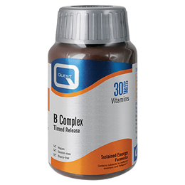 Quest B Complex - Timed Release - 30 Tablets