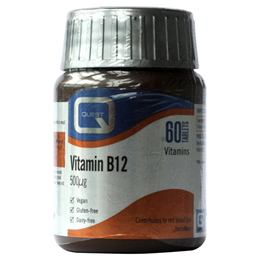 Quest Vitamin B12 - 500mcg - Vitamin B12 Food Supplement - 60 Tablets
