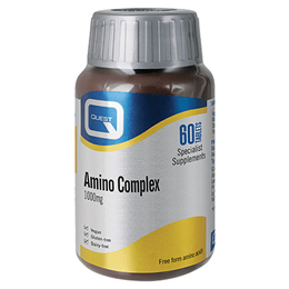 Quest Amino Complex 1000mg - All 8 Essential Amino Acids - 60 Tablets