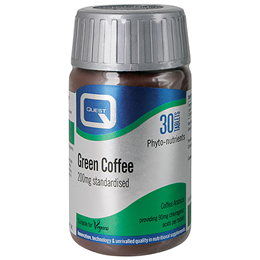Quest Green Coffee Extract 200mg - Diet Support - 30 Tablets