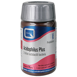 Quest Acidophilus Plus - Probiotic with Maltodextrin - 120 Capsules
