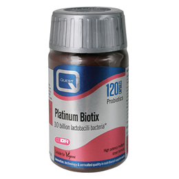 Quest Platinum Biotix - High Potency Formula - 120 Capsules