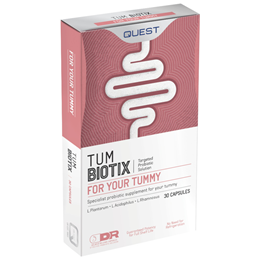 Quest TumBiotix - Probiotic Supplement - 30 Vegicaps