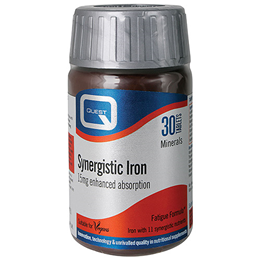 Quest Synergistic Iron - Enhanced Absorption - 30 x 15mg Tablets