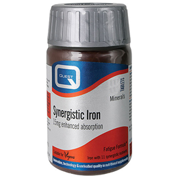 Quest Synergistic Iron - Enhanced Absorption - 90 x 15mg Tablets