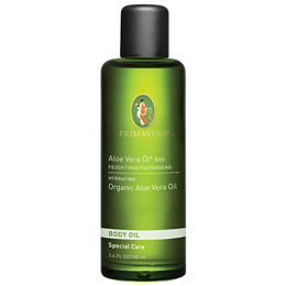 PRIMAVERA Organic Body Oil - Aloe Vera Oil - 100ml