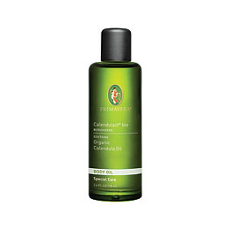 PRIMAVERA Organic Body Oil - Calendula Oil in Olive Oil - 100ml - Best before date is 29th February 2020