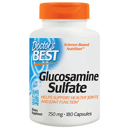 Doctors Best Glucosamine Sulfate 180 x 750mg Capsules