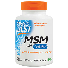 Doctors Best MSM - 120 x 1500mg Tablets