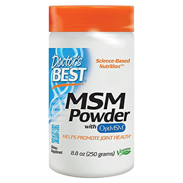 Doctors Best MSM Powder - Maintains Healthy Connective Tissue - 250g