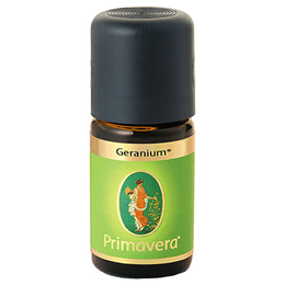 PRIMAVERA Organic Essential Oil - Rose Geranium - Demeter - 10ml