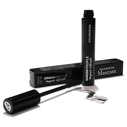 Green People Organic Make-Up - Volumising Mascara - Black - 7ml