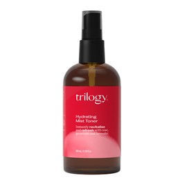 Trilogy Hydrating Mist Toner with Rose, Geranium and Lavender - 100ml