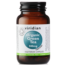 Viridian Organic Green Tea Leaf - 500mg - 90 Vegicaps