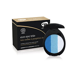 Green People Organic Make-Up - Eco Eye Trio - Aqua - 3g