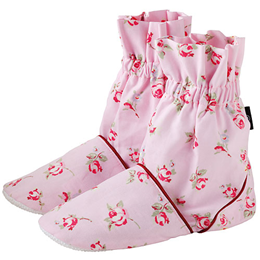 Aroma Home Feet Warmers - Rosebud Pattern - Rose