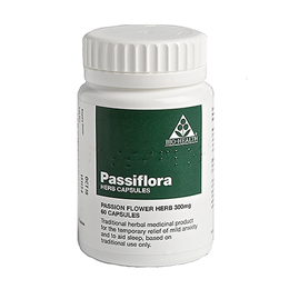 Bio Health Passiflora Herb - Passion Flower Herb - 60 x 300mg Capsules