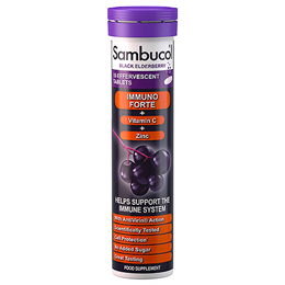 Sambucol Effervescent Immuno Forte - Black Elderberry - 15 Tablets