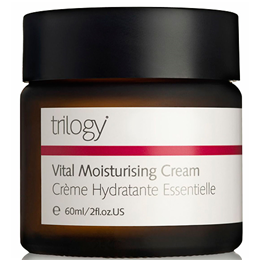 Trilogy Vital Moisturising Cream - With Rosehip Oil - 60ml