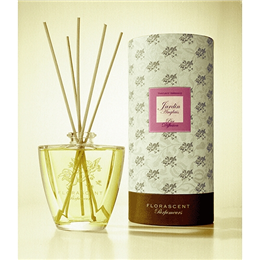 FLORASCENT Room Fragrance - Reed Diffuser - Jardin Anglais - 250ml
