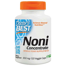 Doctors Best Noni Concentrate - 120 x 650mg Vegicaps