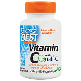 Doctors Best Vitamin C - Quali C - 120 x 500mg Vegicaps