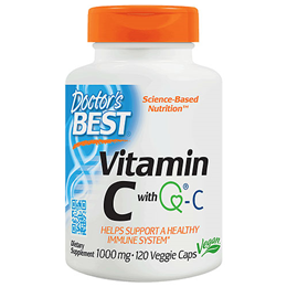 Doctors Best Vitamin C - Quali C - 120 x 1000mg Vegicaps