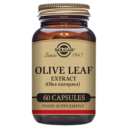 Solgar Olive Leaf Extract - Standardised Full Potency - 60 Vegicaps