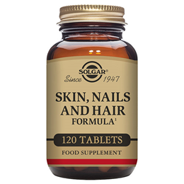 Solgar Skin, Nails and Hair - 120 Vegan Tablets