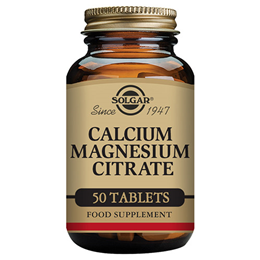Solgar Calcium Magnesium Citrate Tablets - 50 Tablets