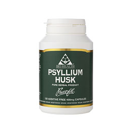 Bio Health Psyllium Husk - 120 x 400mg Vegicaps