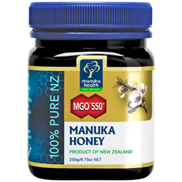 Manuka Health MGO 550+ Manuka Honey - 250g
