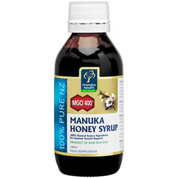 Manuka Health MGO 400+ Manuka Honey Syrup - 100ml