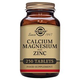 Solgar Calcium Magnesium Plus Zinc - 250 Tablets